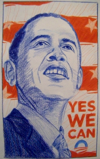 Barack Obama par Benji